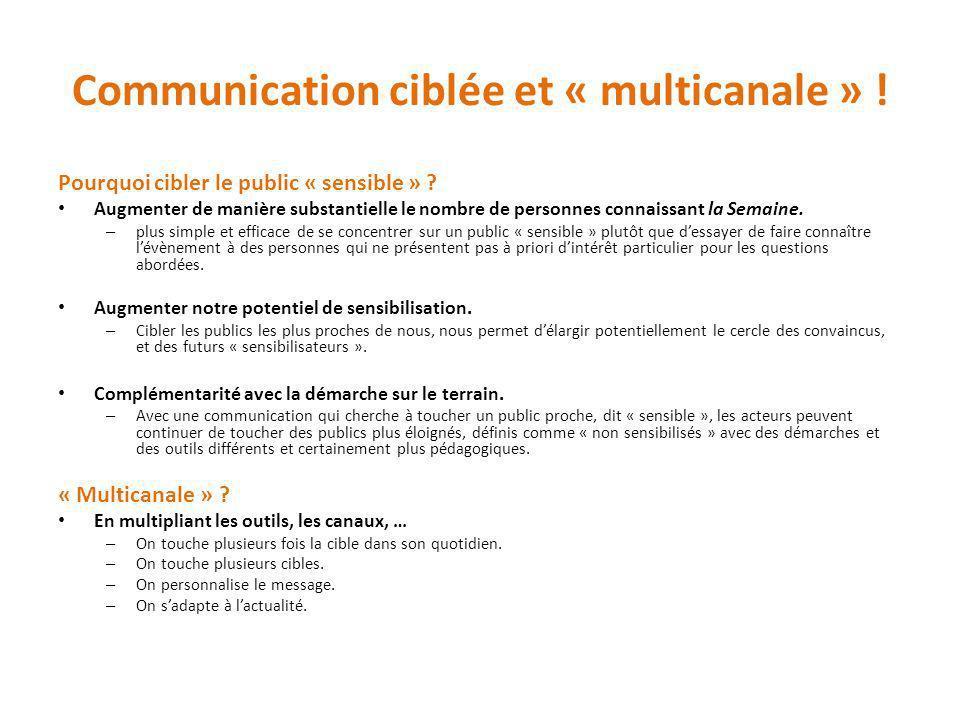 Communication ciblée et « multicanale » !