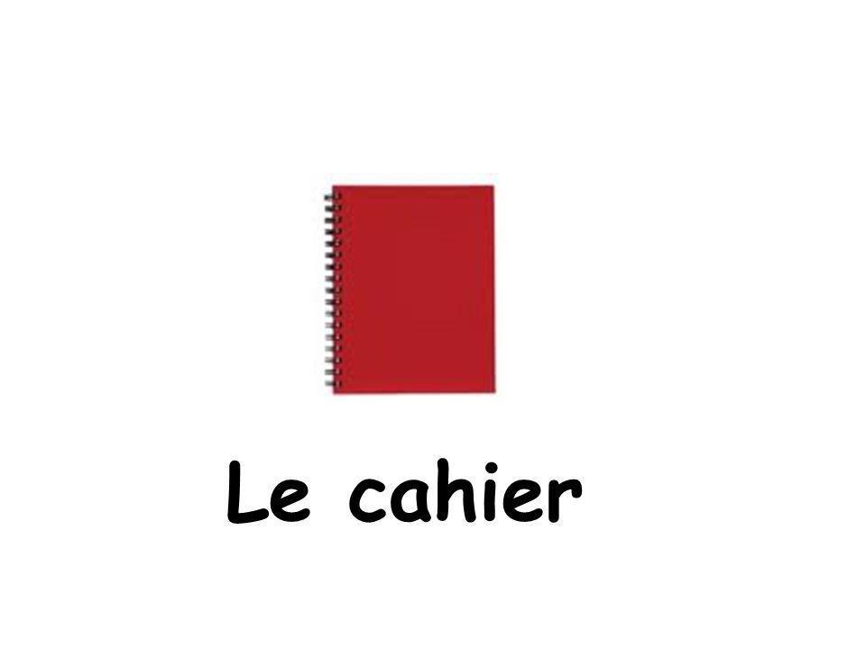Le cahier