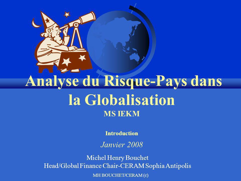 Michel Henry Bouchet Head/Global Finance Chair-CERAM Sophia Antipolis