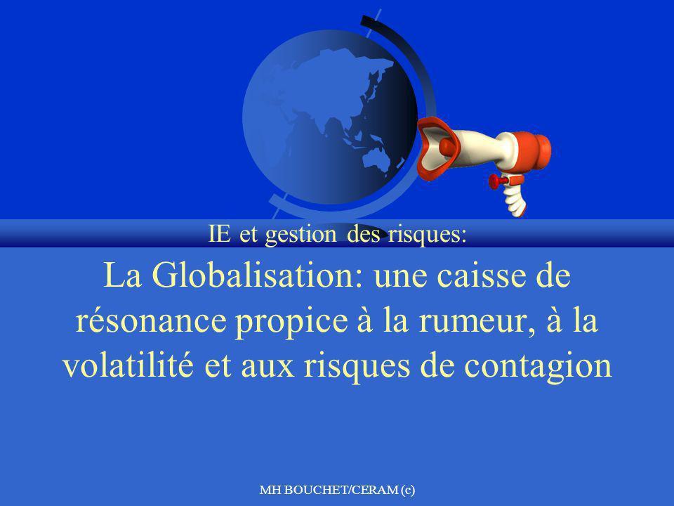 IE et gestion des risques: La Globalisation: une caisse de résonance propice à la rumeur, à la volatilité et aux risques de contagion