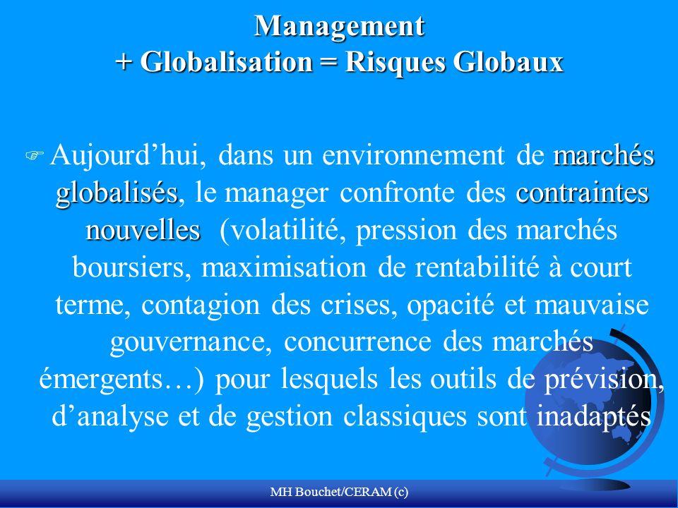 Management + Globalisation = Risques Globaux