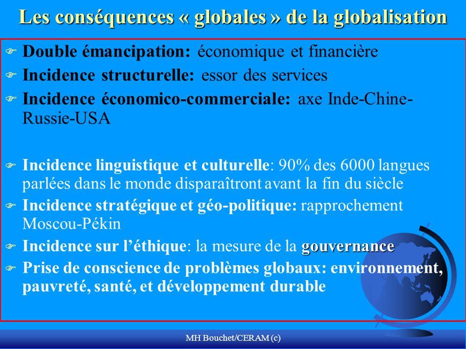 Les conséquences « globales » de la globalisation
