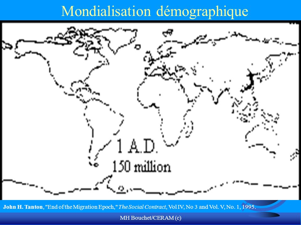 Mondialisation démographique