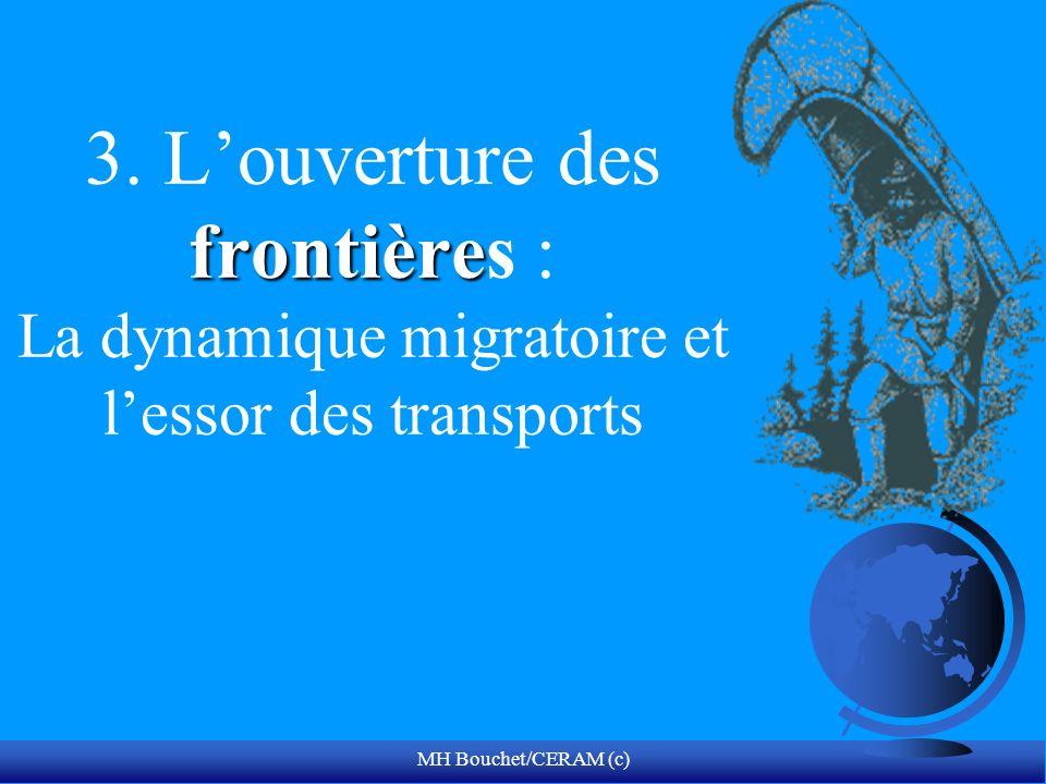 3. L'ouverture des frontières : La dynamique migratoire et l'essor des transports