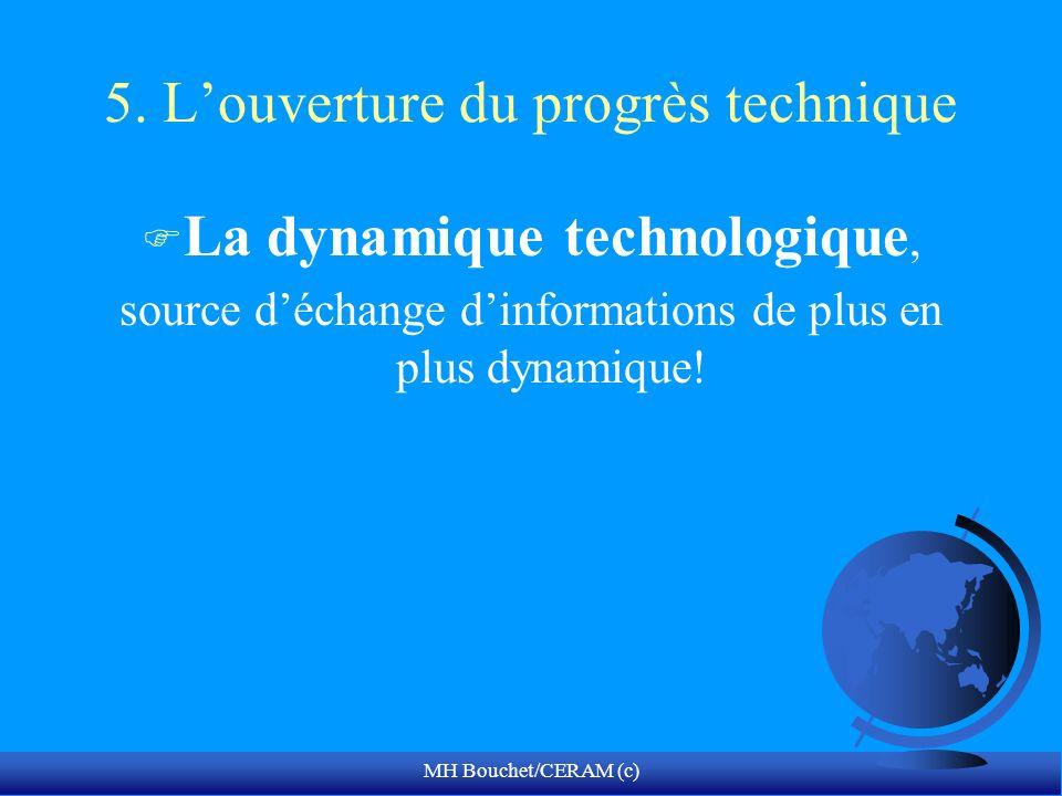 5. L'ouverture du progrès technique
