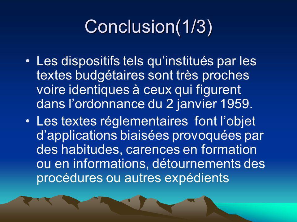 Conclusion(1/3)