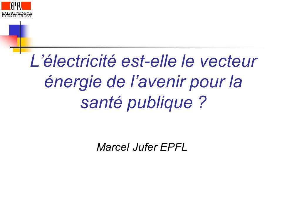 E C. O. L. P. Y. T. H. N. I. Q. U. F. D. R. A. S. L'électricité est-elle le vecteur énergie de l'avenir pour la santé publique