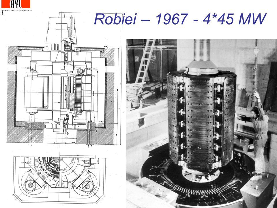 Robiei – 1967 - 4*45 MW