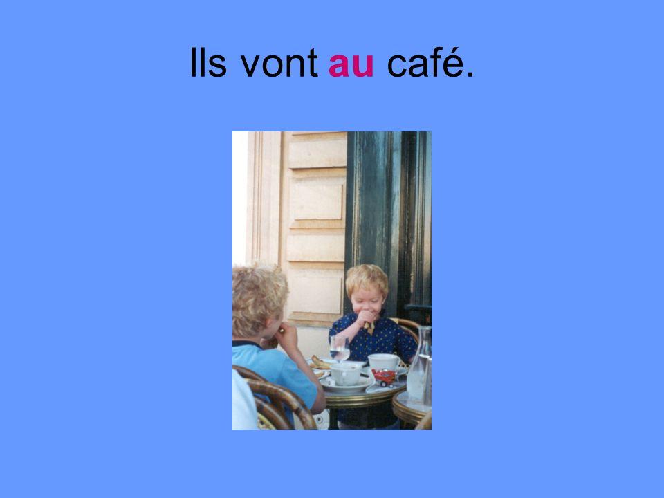 Ils vont au café.