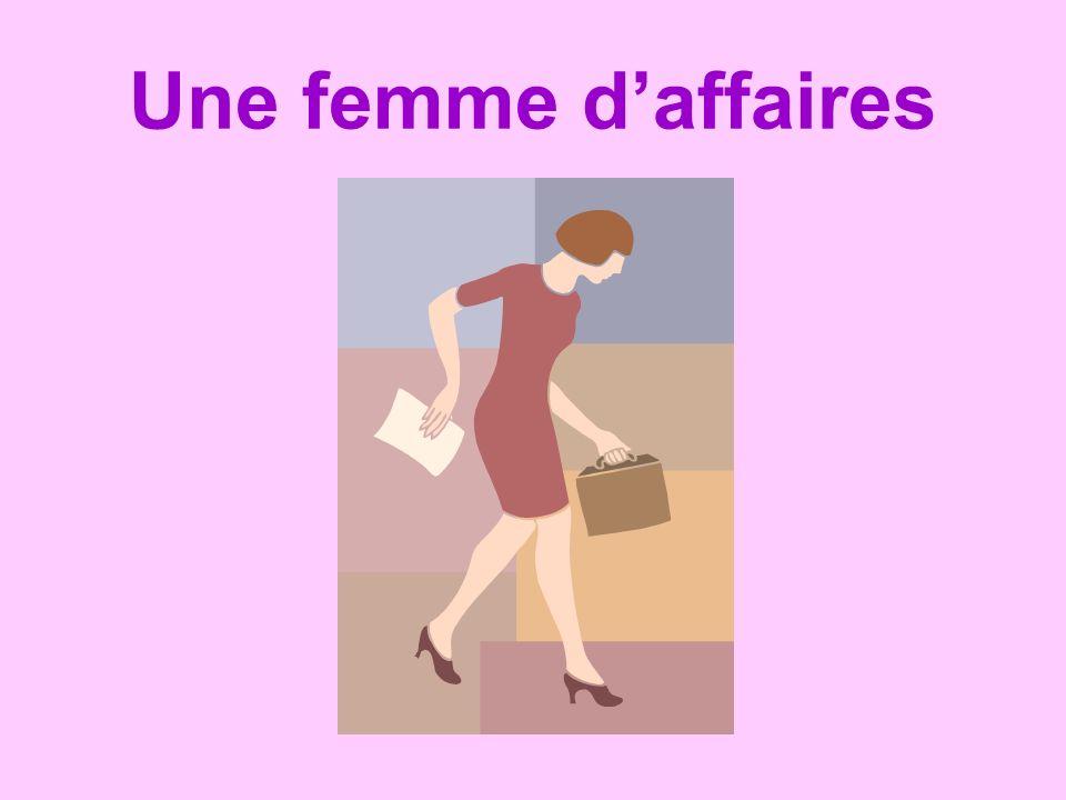 Une femme d'affaires