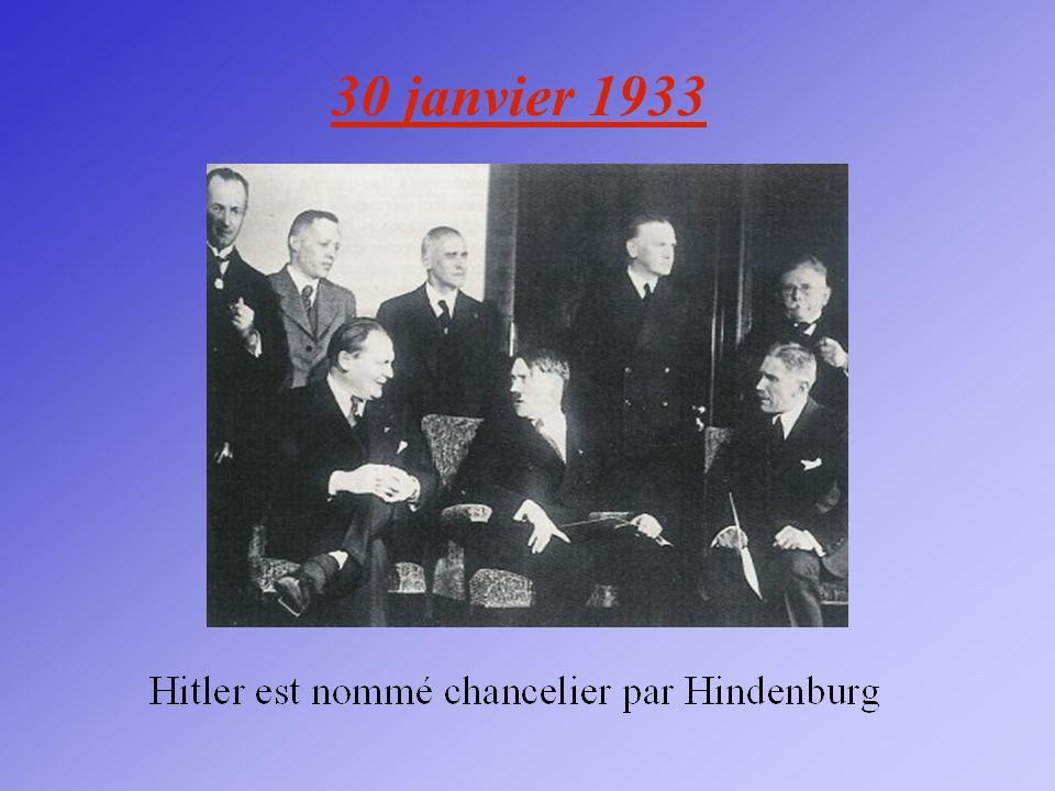 30 janvier 1933
