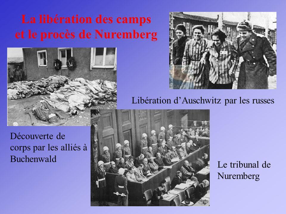 La libération des camps et le procès de Nuremberg