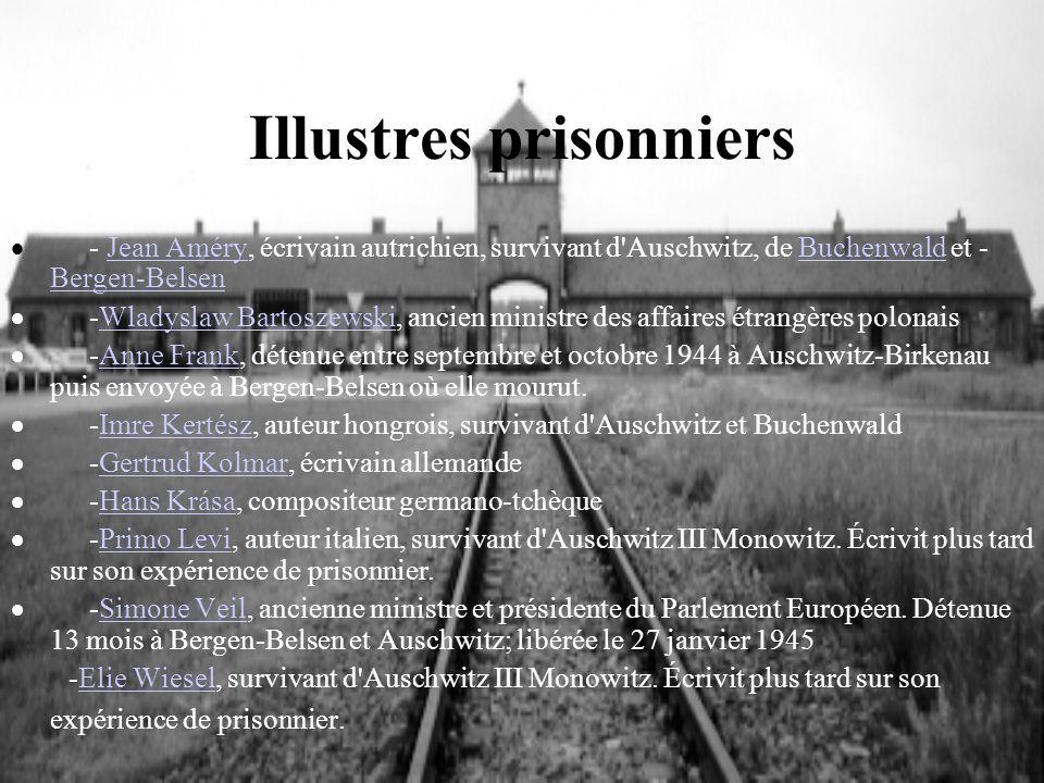 Illustres prisonniers