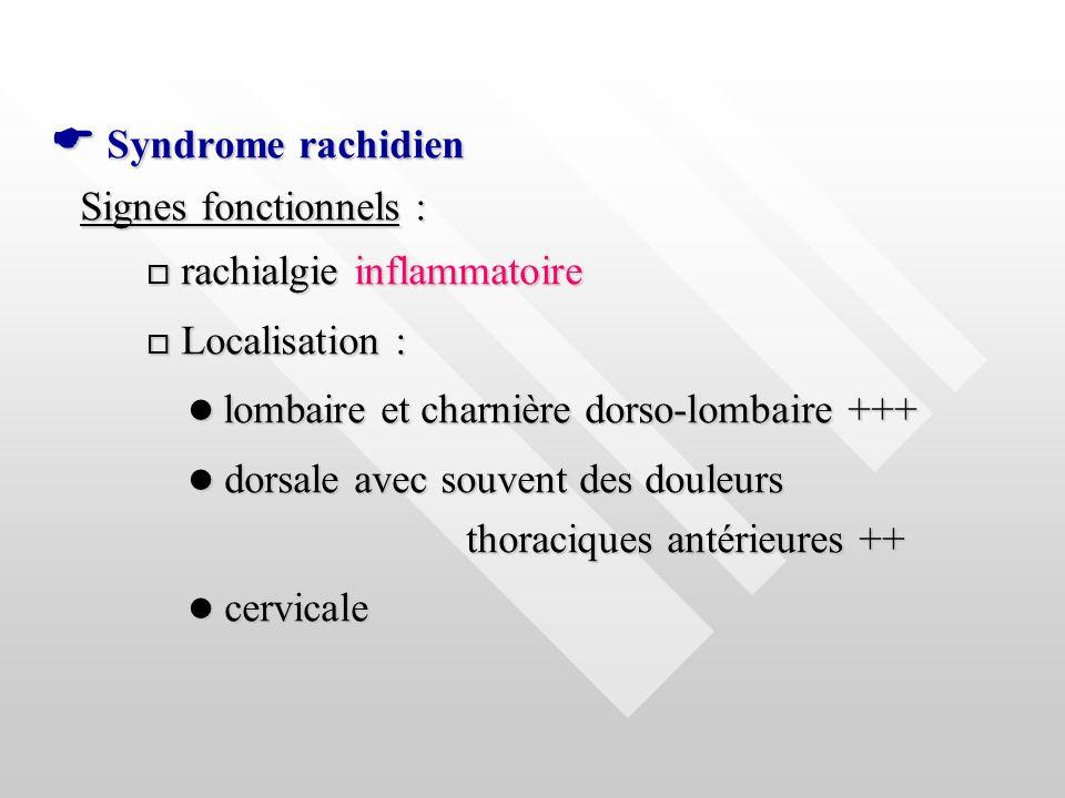  lombaire et charnière dorso-lombaire +++
