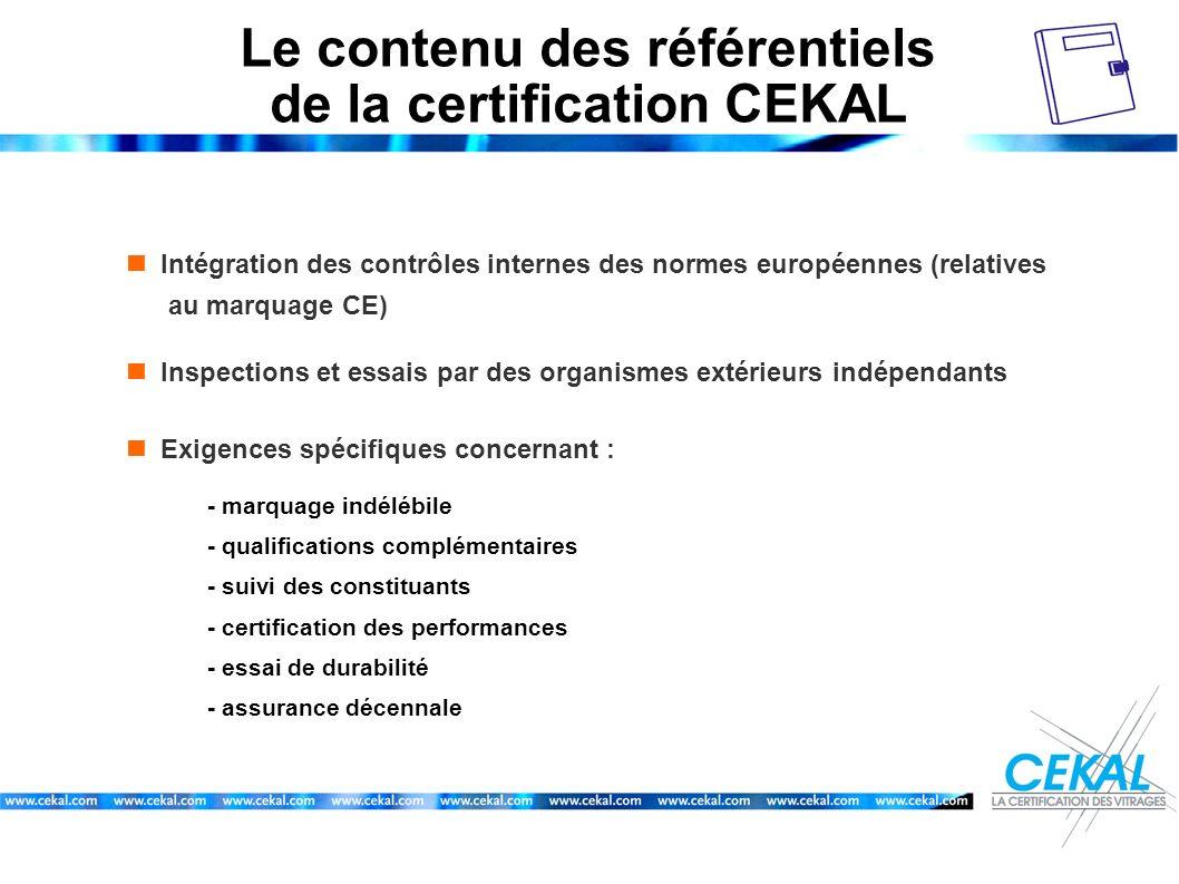 Le contenu des référentiels de la certification CEKAL
