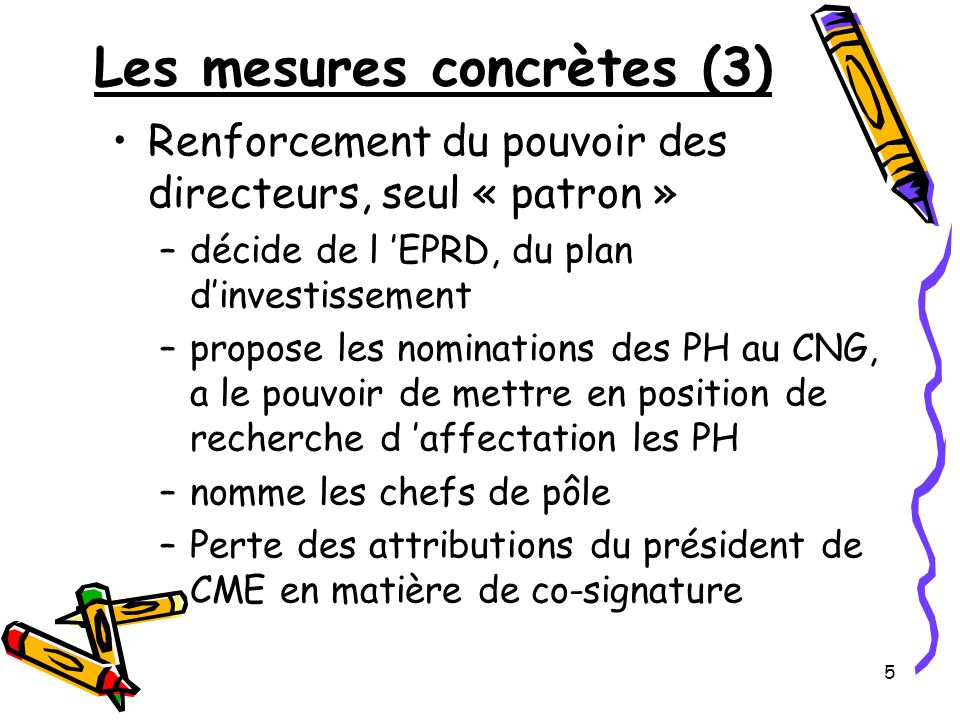 Les mesures concrètes (3)