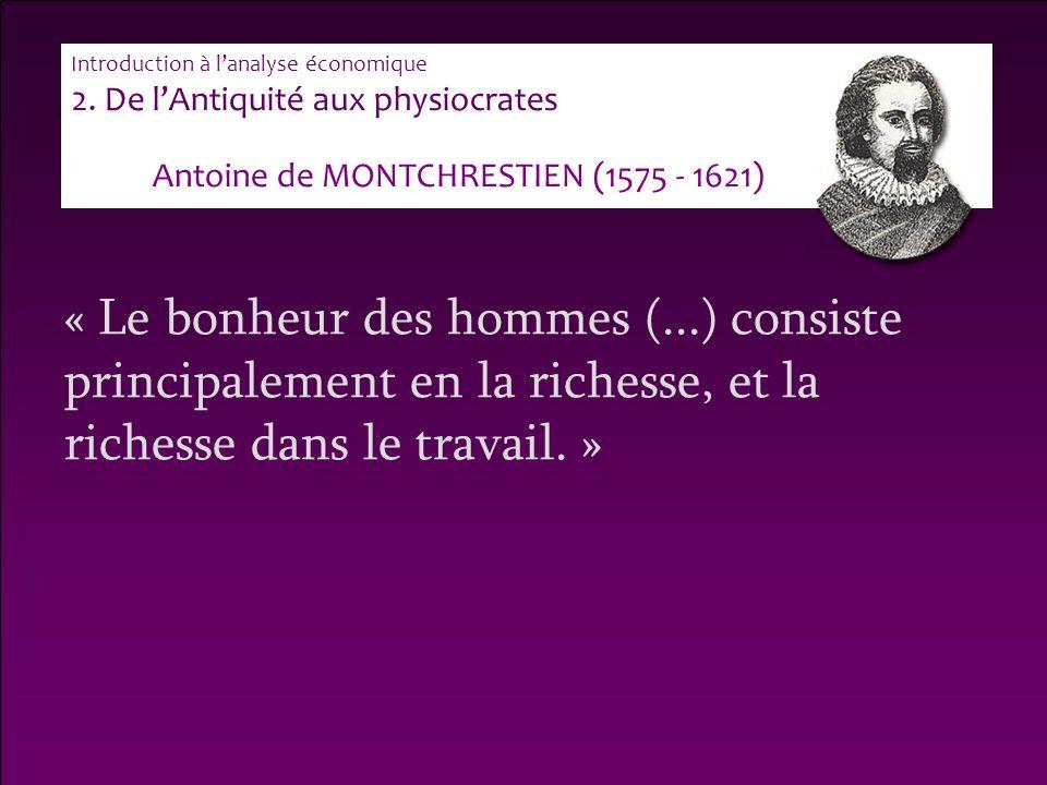 Antoine de MONTCHRESTIEN (1575 - 1621)