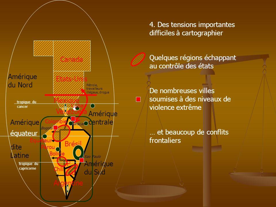 4. Des tensions importantes difficiles à cartographier