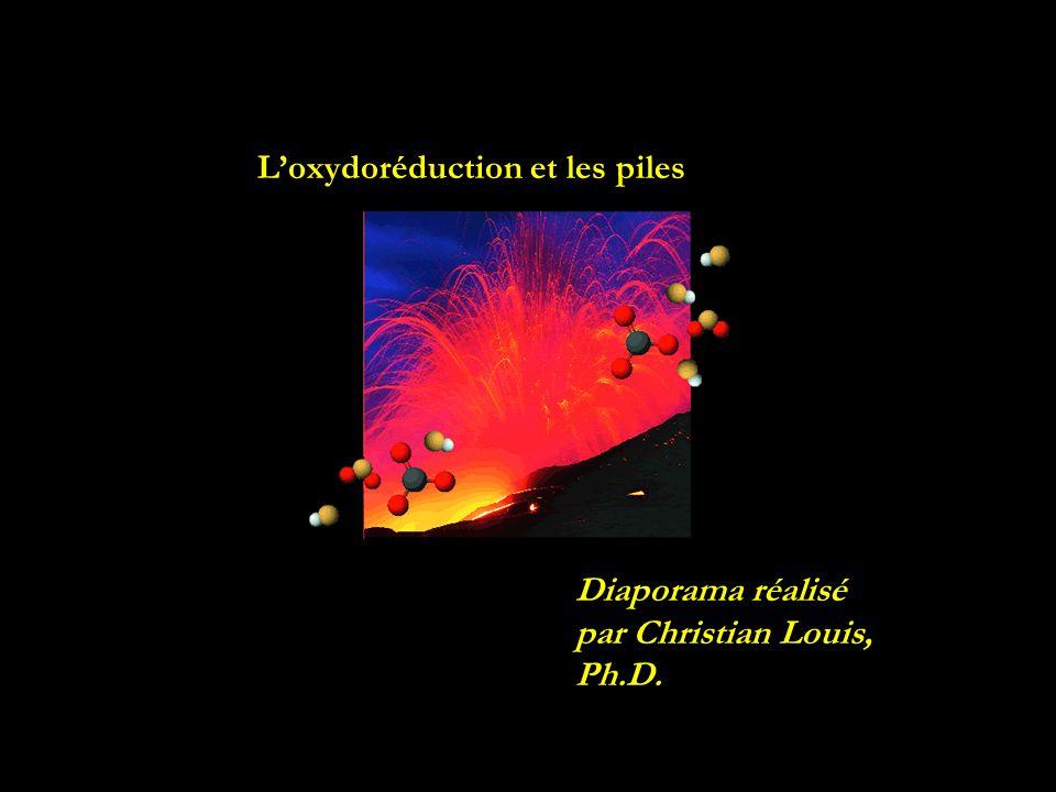 L'oxydoréduction et les piles