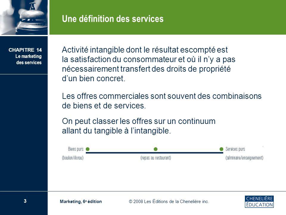 Une définition des services