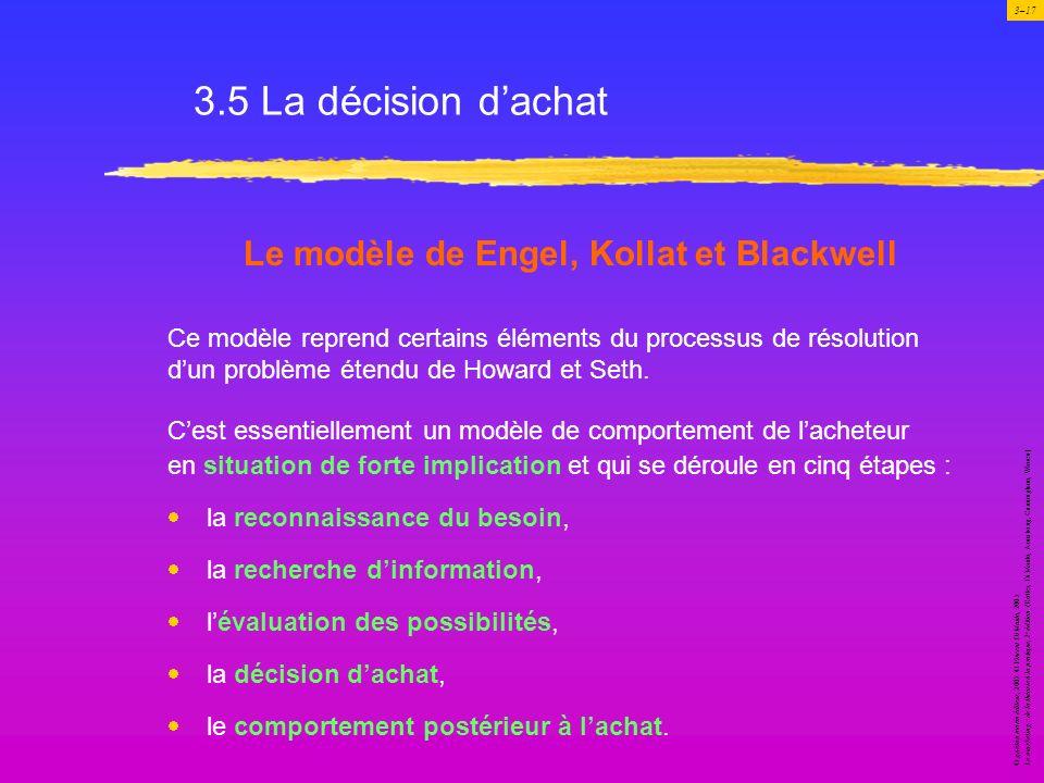 Le modèle de Engel, Kollat et Blackwell
