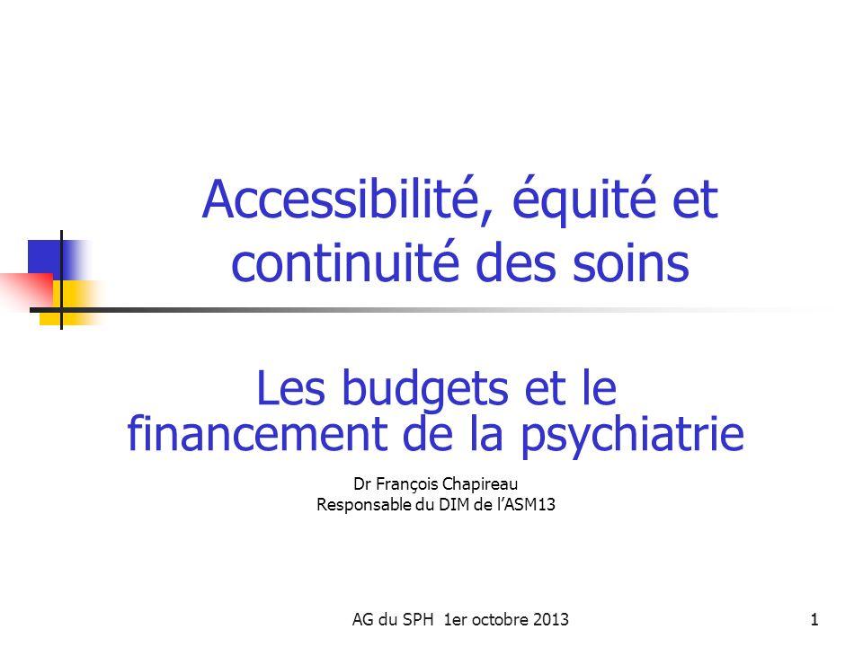 Accessibilité, équité et continuité des soins
