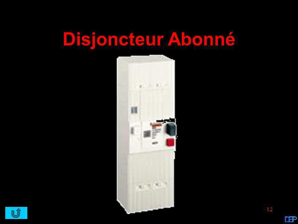 Disjoncteur Abonné