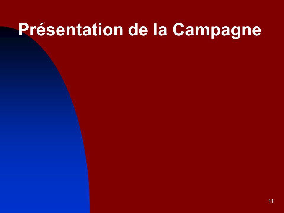 Présentation de la Campagne