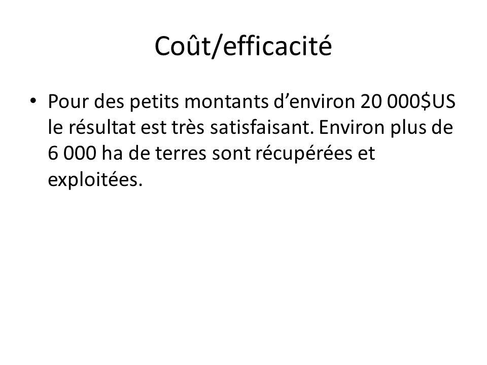 Coût/efficacité
