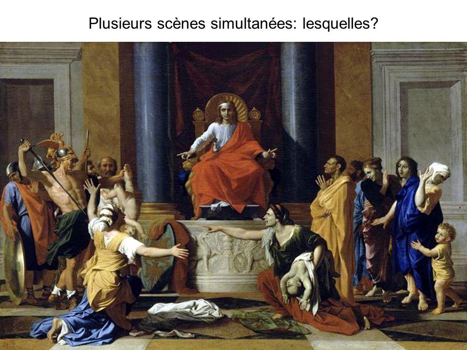 Plusieurs scènes simultanées: lesquelles