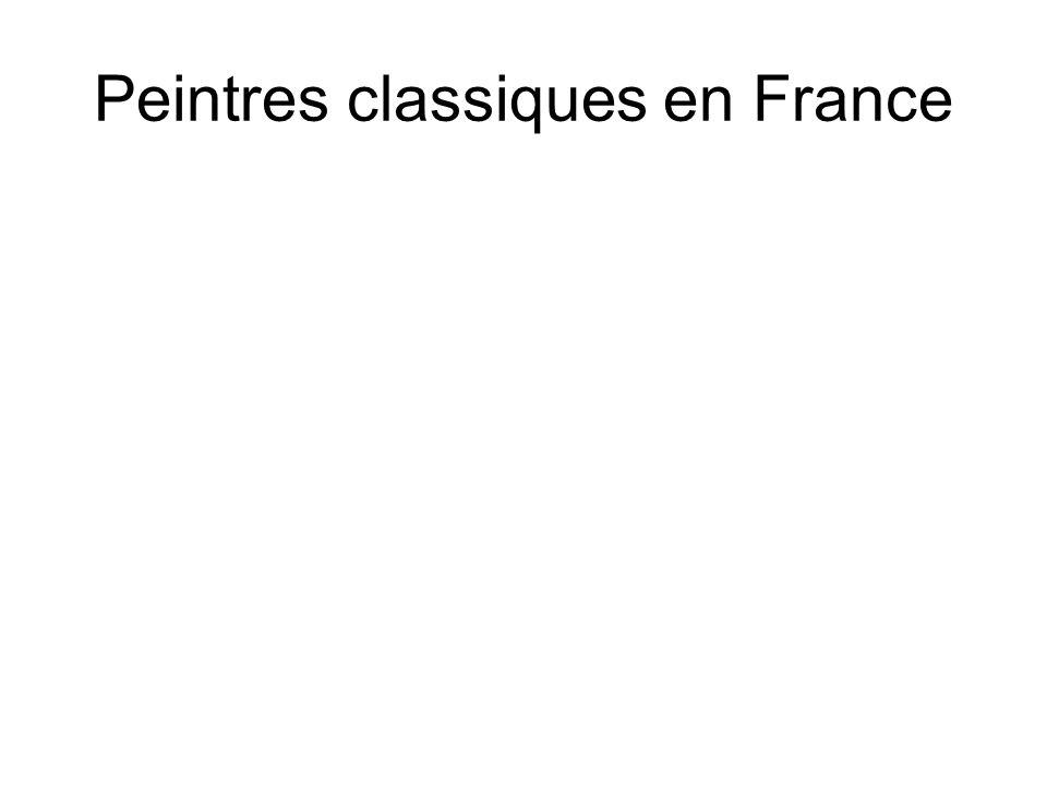 Peintres classiques en France
