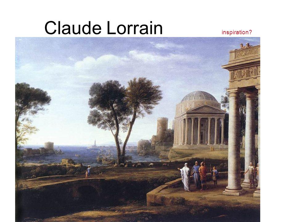 Claude Lorrain inspiration