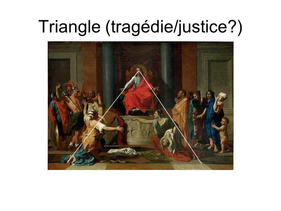Triangle (tragédie/justice )