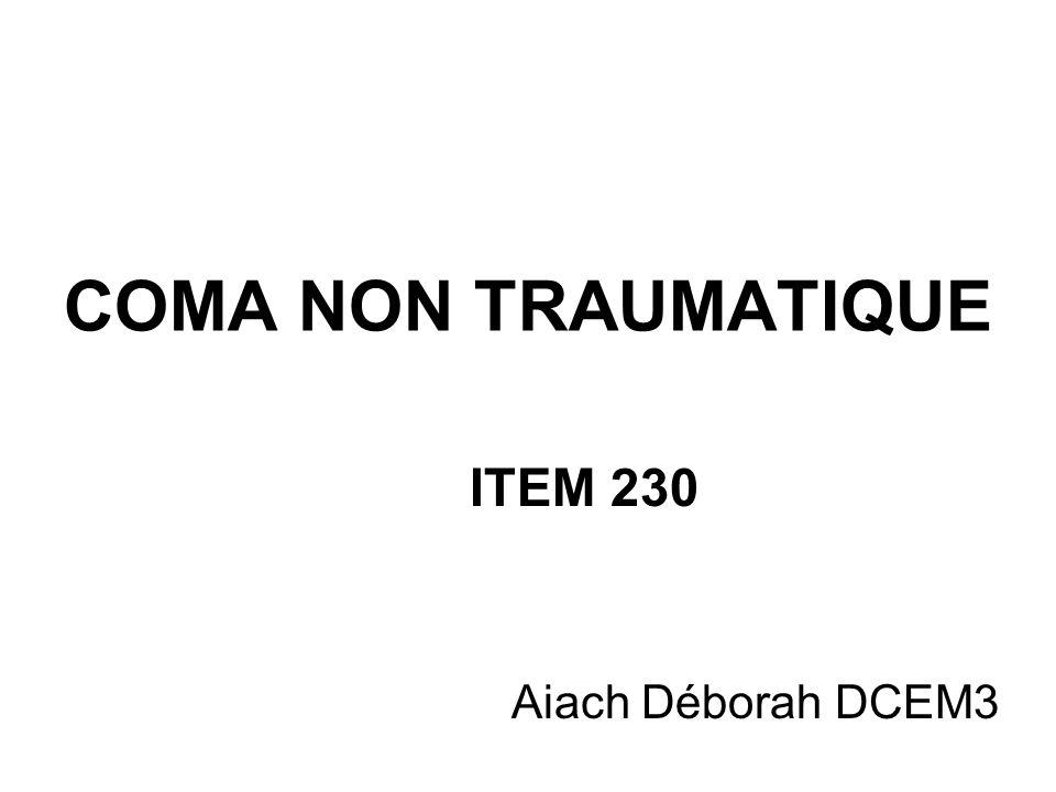 ITEM 230 Aiach Déborah DCEM3