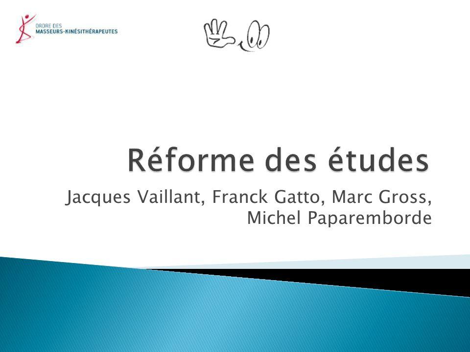 Jacques Vaillant, Franck Gatto, Marc Gross, Michel Paparemborde