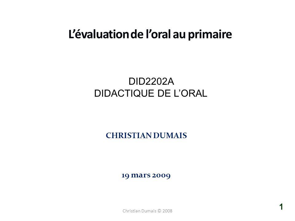 L'évaluation de l'oral au primaire