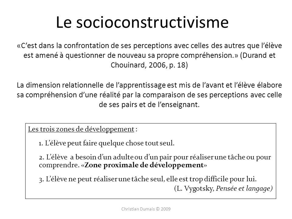 Le socioconstructivisme