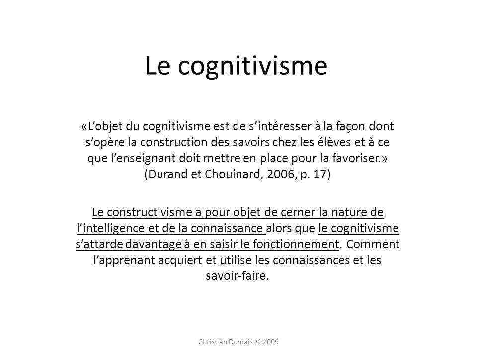 Le cognitivisme