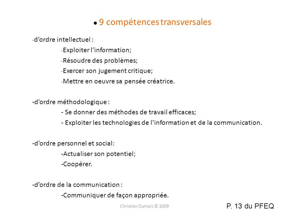 9 compétences transversales