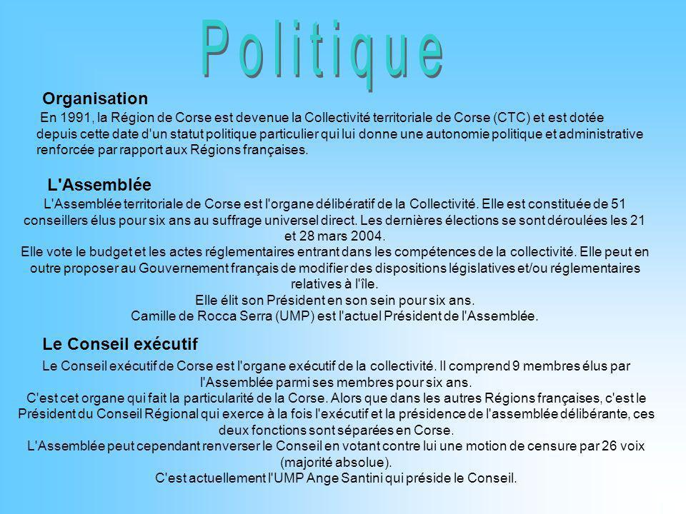 Politique Organisation L Assemblée Le Conseil exécutif