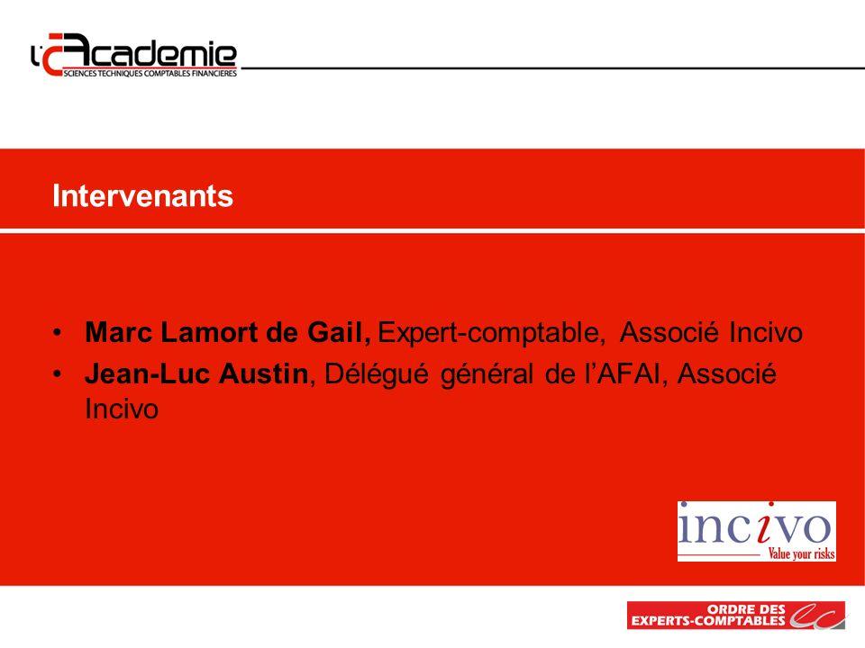 Intervenants Marc Lamort de Gail, Expert-comptable, Associé Incivo