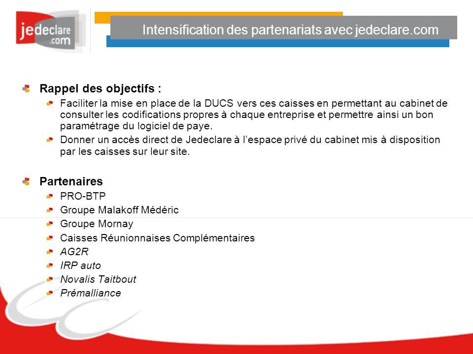 Intensification des partenariats avec jedeclare.com