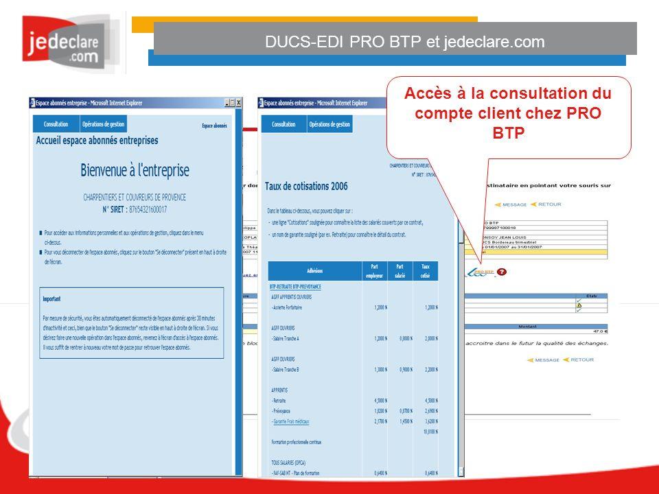 DUCS-EDI PRO BTP et jedeclare.com