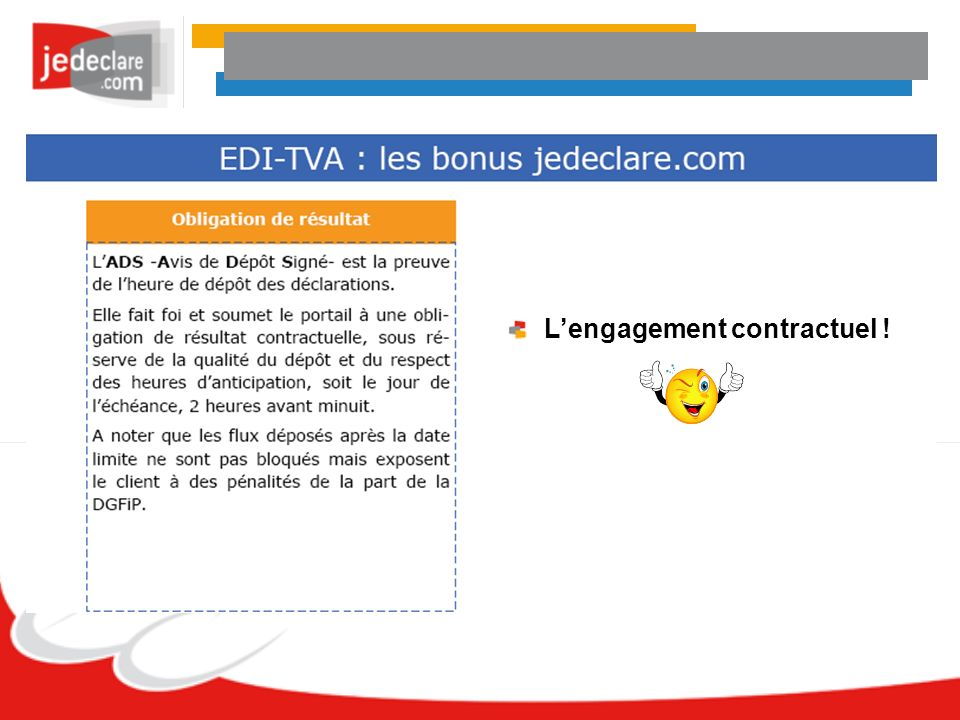 L'engagement contractuel !