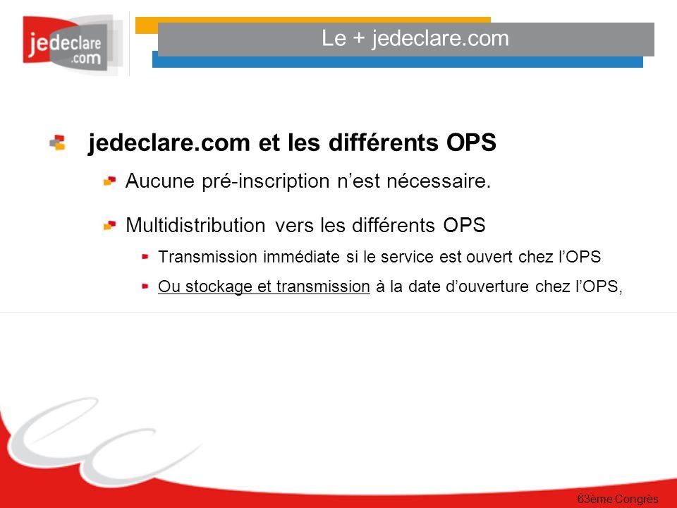 jedeclare.com et les différents OPS