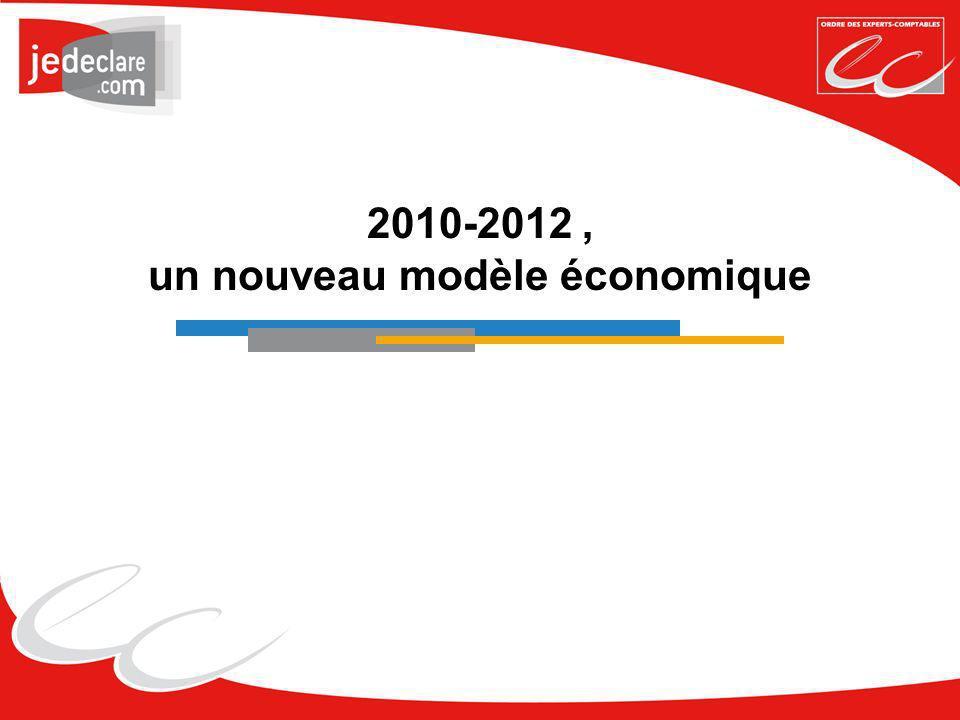 2010-2012 , un nouveau modèle économique