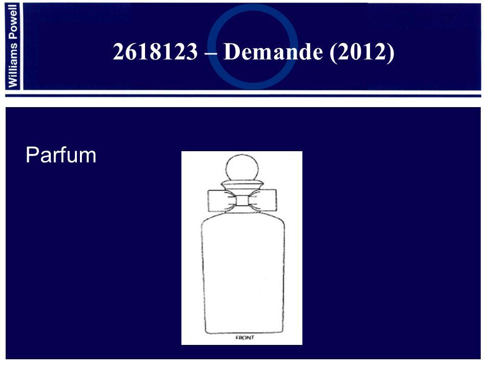 2618123 – Demande (2012) Parfum