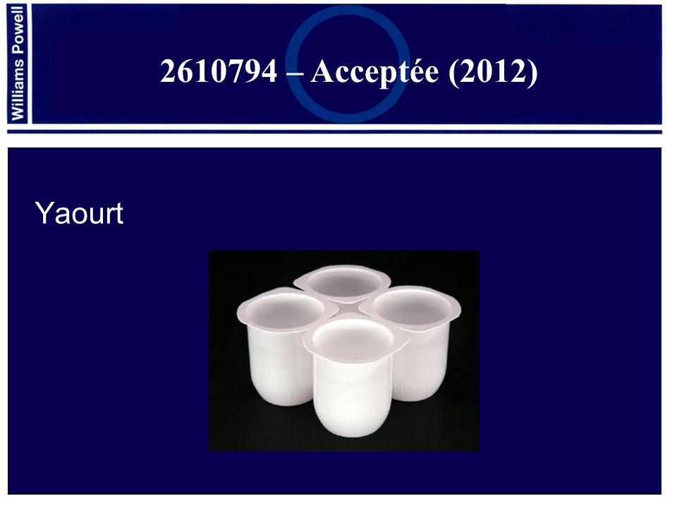 2610794 – Acceptée (2012) Yaourt