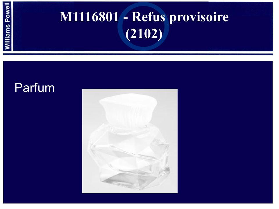 M1116801 - Refus provisoire (2102) Parfum