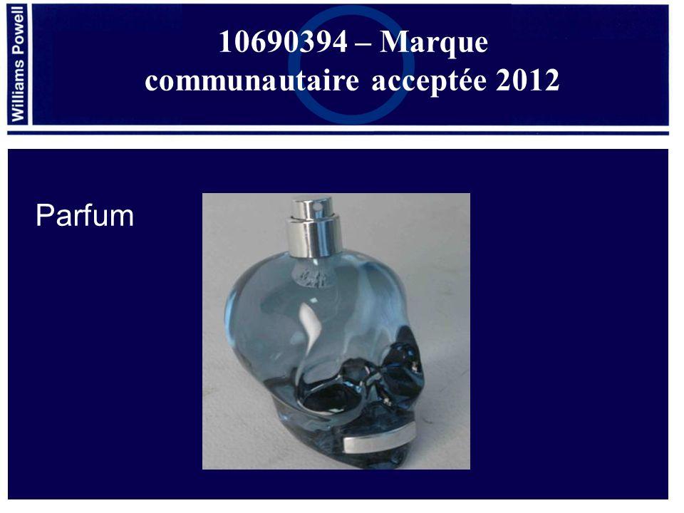 10690394 – Marque communautaire acceptée 2012